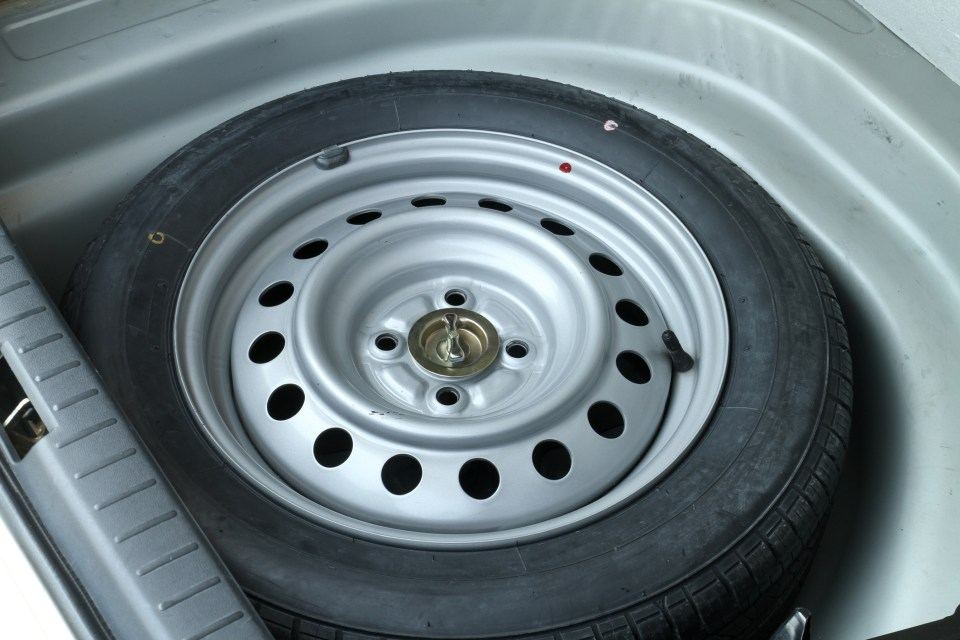 Cars do not have to have a spare tyre, but if they do they must comply with the laws