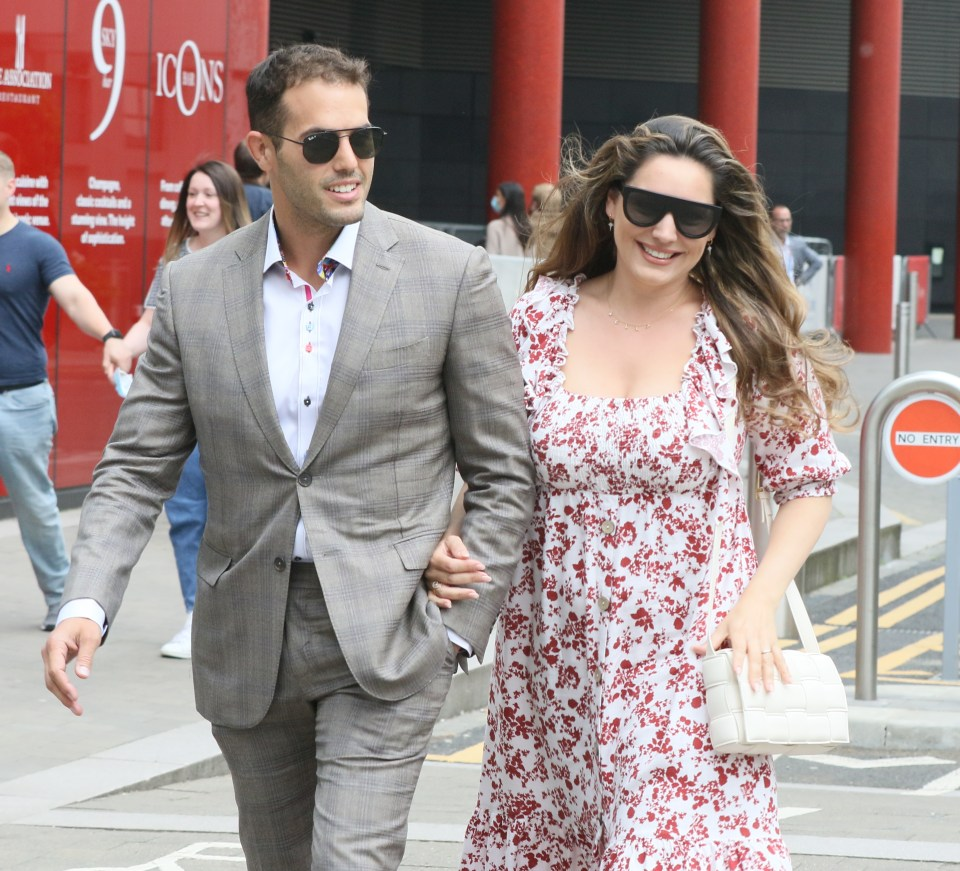 The couple yet to be engaged were walking arm in arm