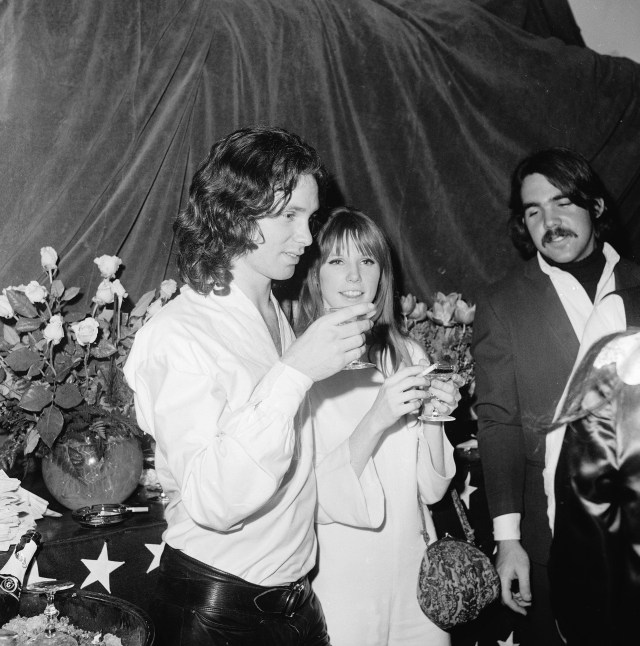 Jim's girlfriend Pamela Courson died of an overdose in 1974