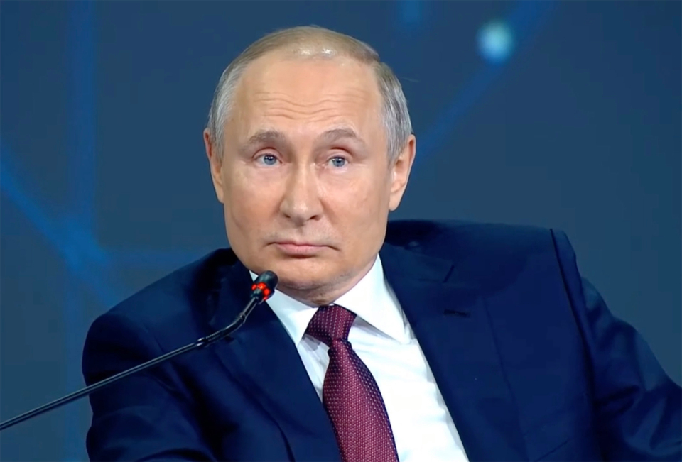 Putin has previously said that his daughters 'live their own lives'