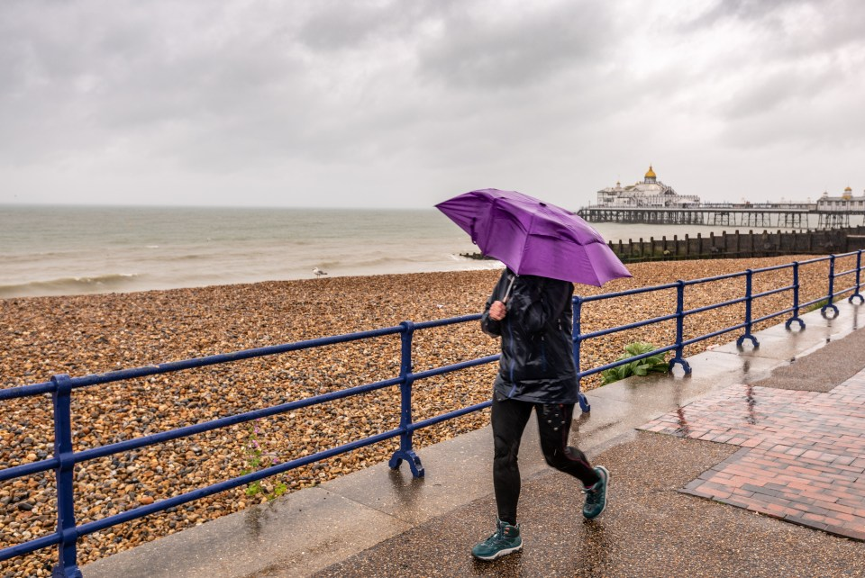 Rain is set to batter the country this weekend