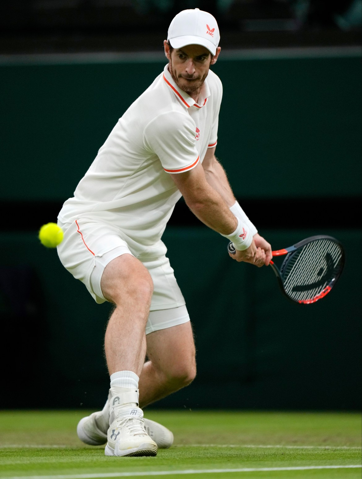 Ex-Wimbledon winner Andy Murray ground out another memorable performance