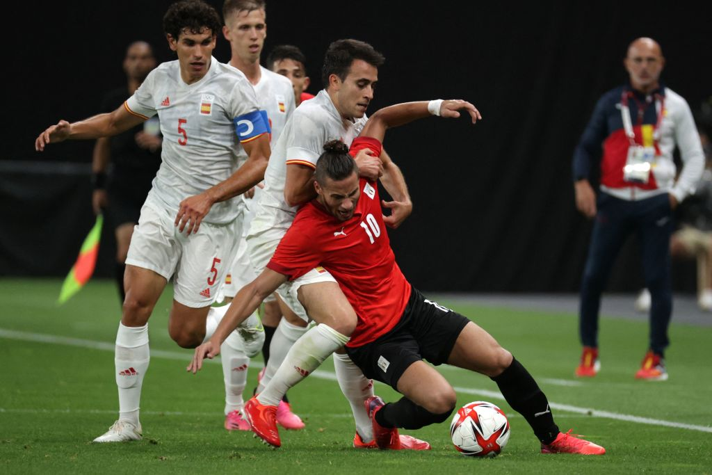 Egypt 0 Spain 0 LIVE REACTION: Ceballos limps off INJURED in stalemate with  Egyptians in Olympic Sapporo opener