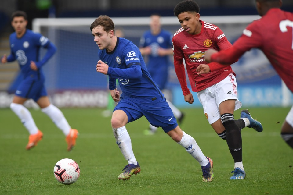 Lewis Bate is one of five Chelsea starlets set to leave the club