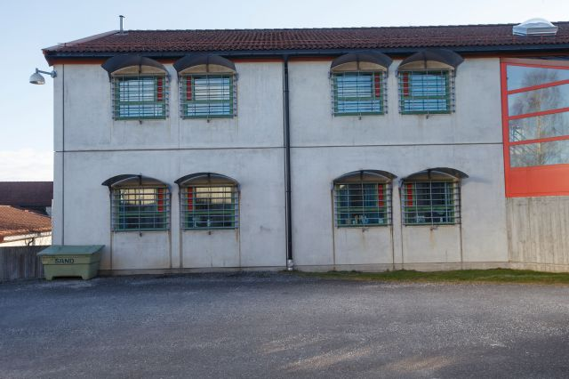 Skien Prison - where the killer has submitted a list of whingeing complaints to jail bosses