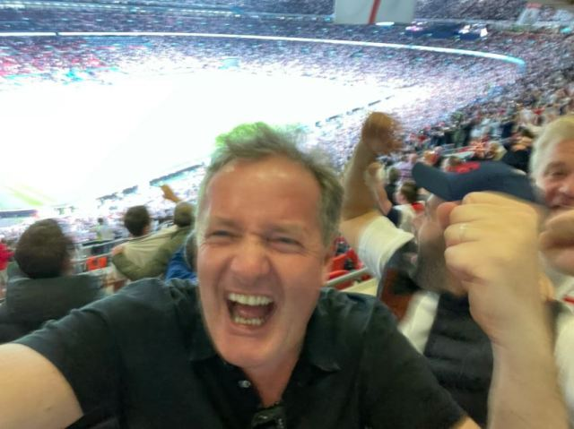 The presenter recently caught Covid after attending the Euro 2020 final at Wembley