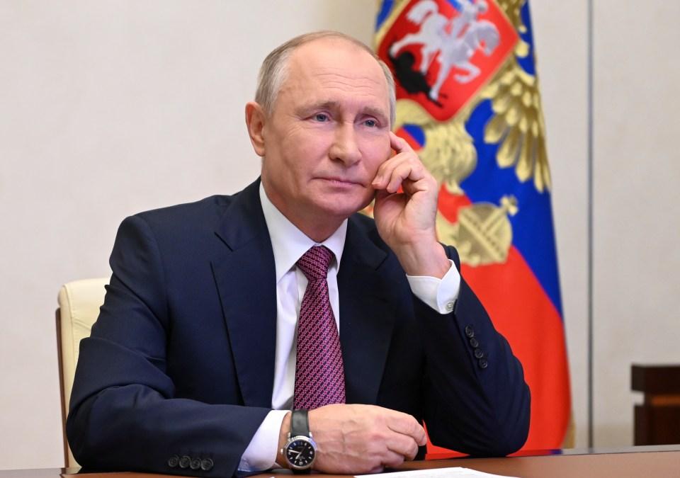 Russian despot Vladimir Putin has been accused of greenlighting 'destabilizing activates' in Europe