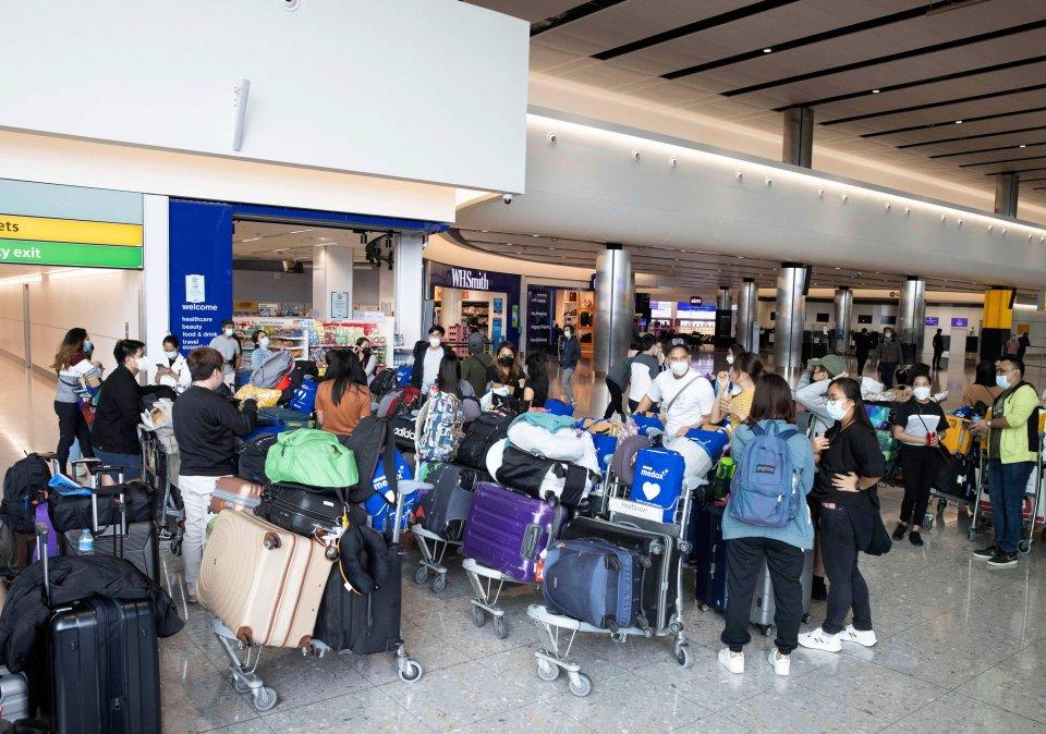Passengers faced huge queues at Heathrow earlier this week
