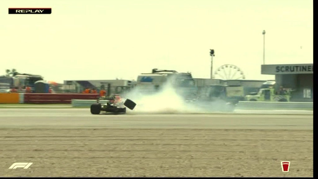 Red Bull reveal Max Verstappen has been rushed to hospital for tests after horror 180mph Silverstone crash with Hamilton