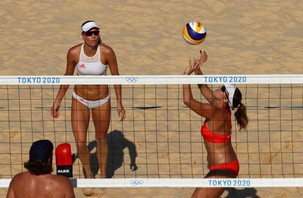 Czech Republic women's beach volleyball pair Marketa Slukova and Barbora Hermannova are out of the Olympics due to coronavirus
