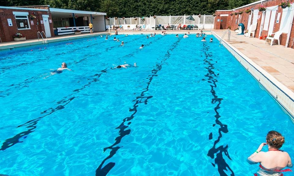 The Nantwich pool is the only inland brine pool in the UK