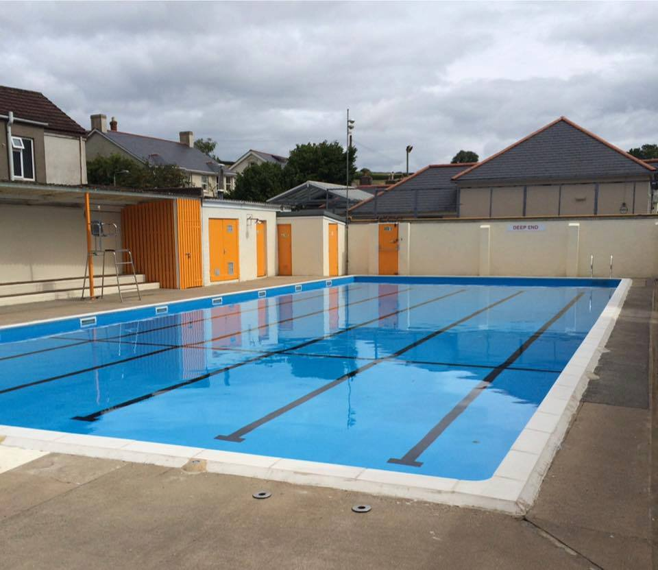 The Buckfastleigh Open Air Pool is also heated when open