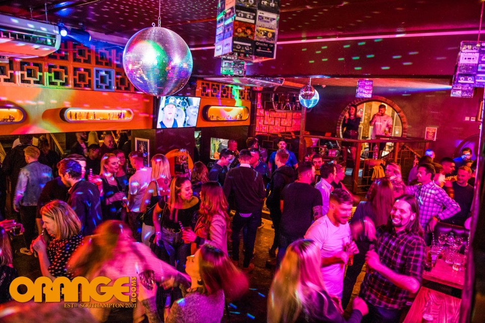 At night, make sure to stop by Orange Rooms, a retro bar where cocktails are always flowing