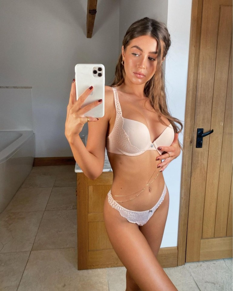 She regularly shares glamorous snaps of herself with her social media followers