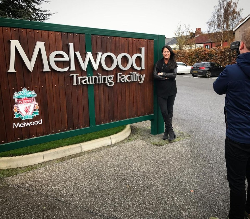 Quek visits Liverpool's famous training ground