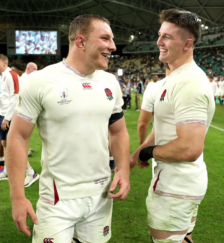 With no Sam Underhill around in the camp, Tom Curry has buddied up with Tadhg Furlong instead