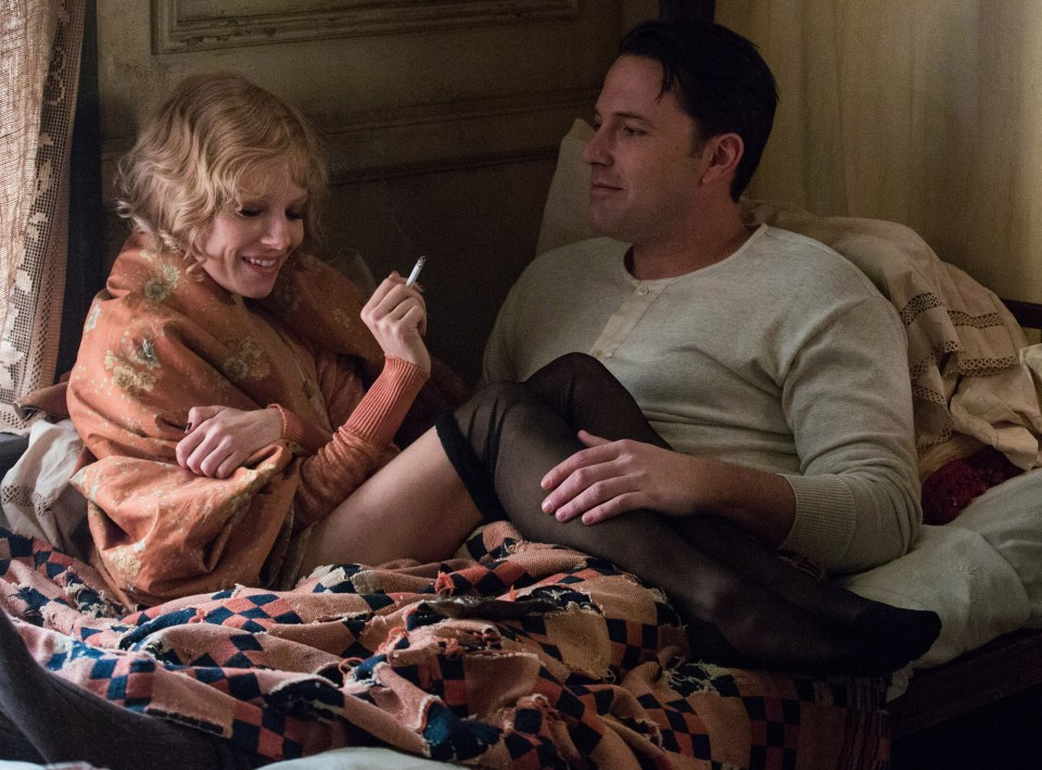 Sienna Miller admitted she was not very professional during sex scenes with Ben Affleck in Live by Night
