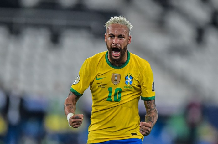 Neymar is said to be urging Ramos to sign for PSG