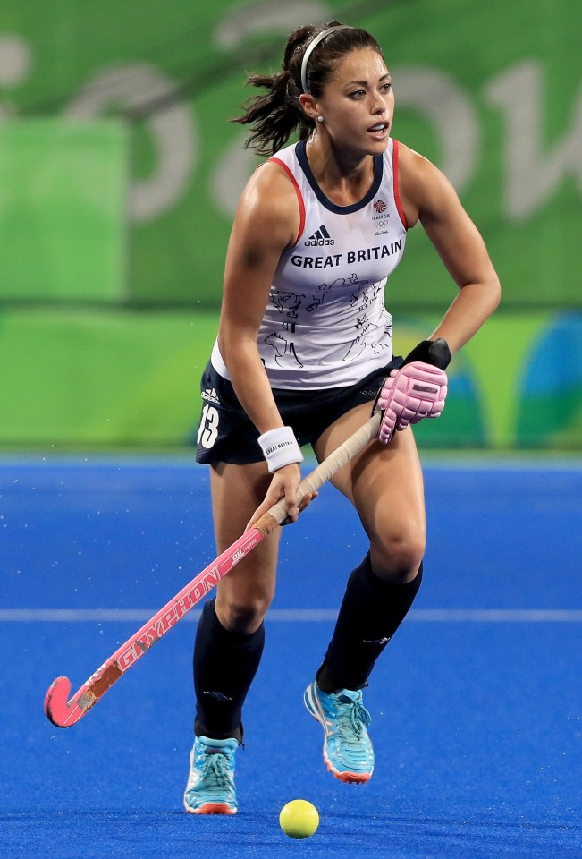 In the end, field hockey came first for Quek
