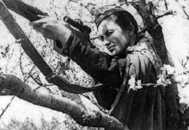 Lyudmila Pavlichenko is credited with 309 kills during WW2 - making her the most successful female sniper in history