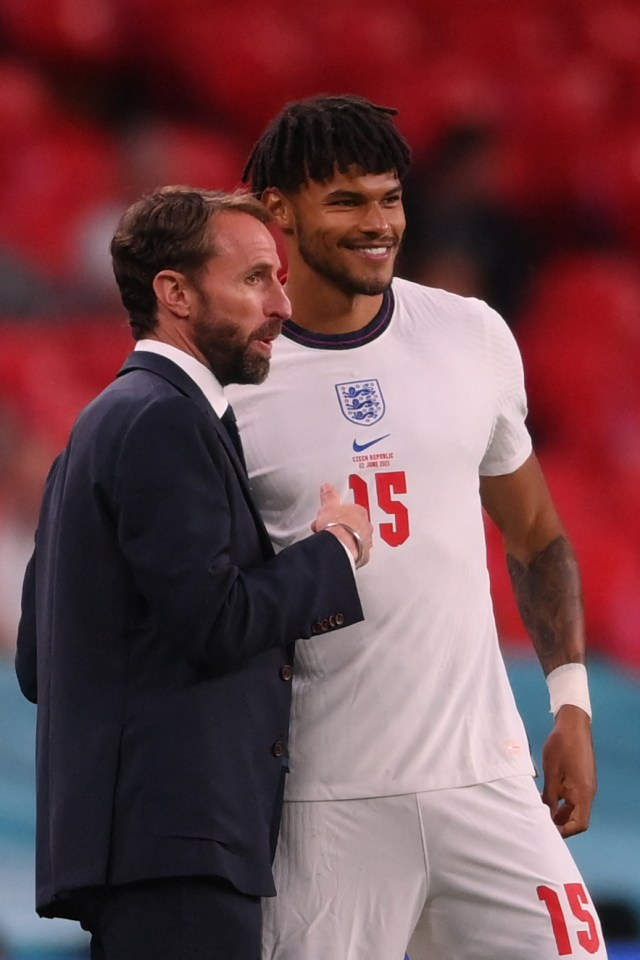 Tyrone says manager Gareth Southgate helped reinforce a sense of patriotism in the squad