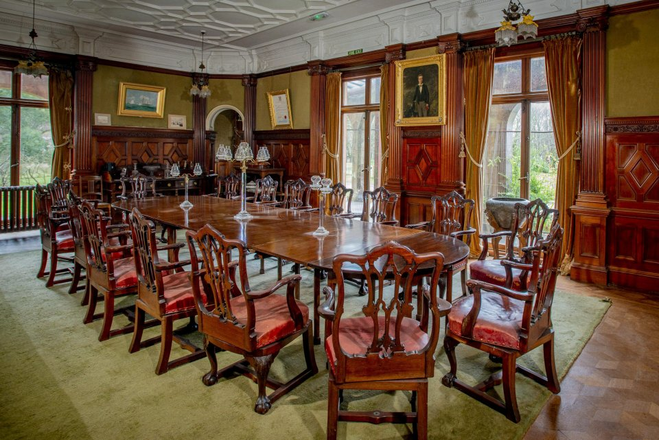 The new owners will be asked to help preserve the stunning property