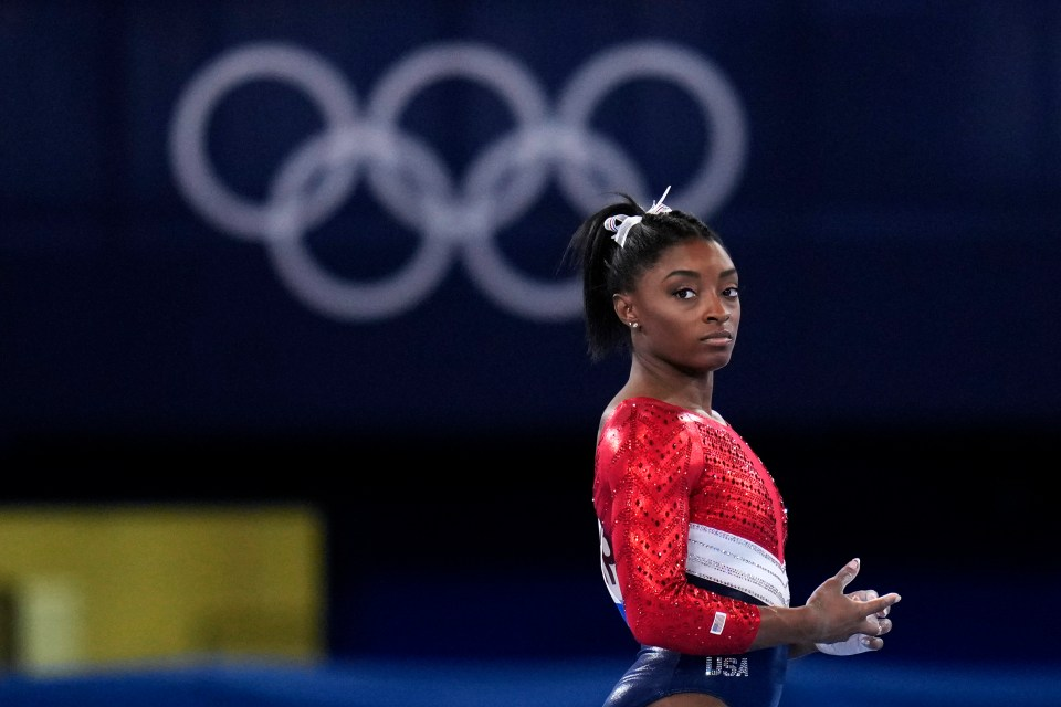 Tyrone gave his backing to US Olympian Simone Biles, who pulled out of finals to prioritise her mental health