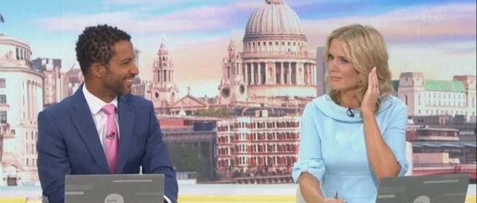 ارتكبت شارلوت هوكينز من Good Morning Britain على بث مباشر على الهواء