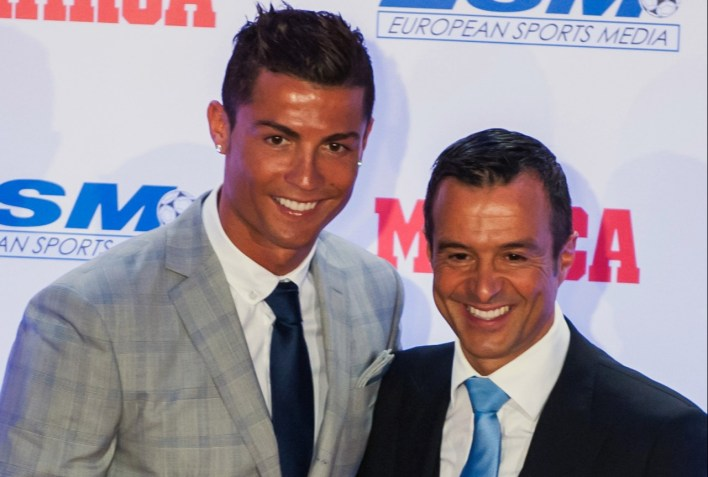 Ronaldo's agent Jorge Mendes was also duped by the woman