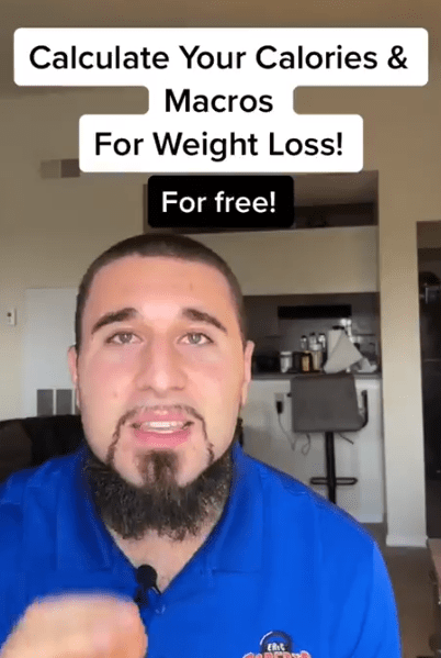 Fitness trainer Eric Roberts revealed the formula you need to calculate the right calories and macros for your goals