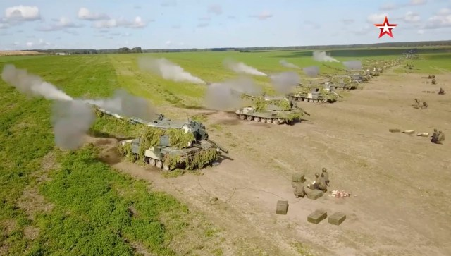 The joint military exercises will include Belarus, which was recently hit with EU sanctions
