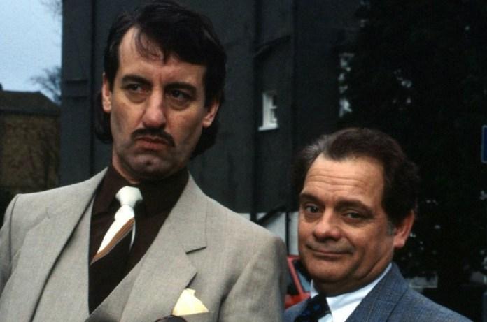John as Boyce and Sir David as Del Boy