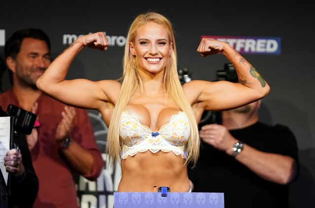 The Blonde Bomber's last fight was just a MONTH ago