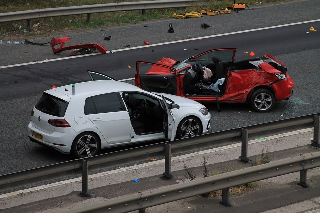 Officers were chasing a red Seat Ibiza