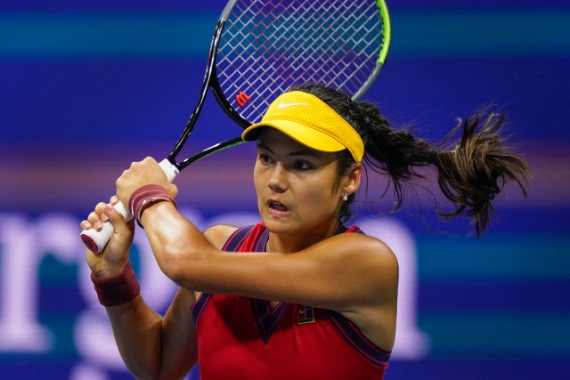 The teenager put on a stunning display of tennis at Flushing Meadows
