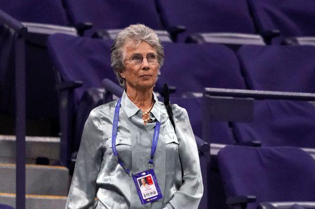Virgina Wade, U.S. Open winner 1968