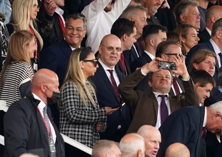 Avram Glazer ended his Old Trafford exile for the game