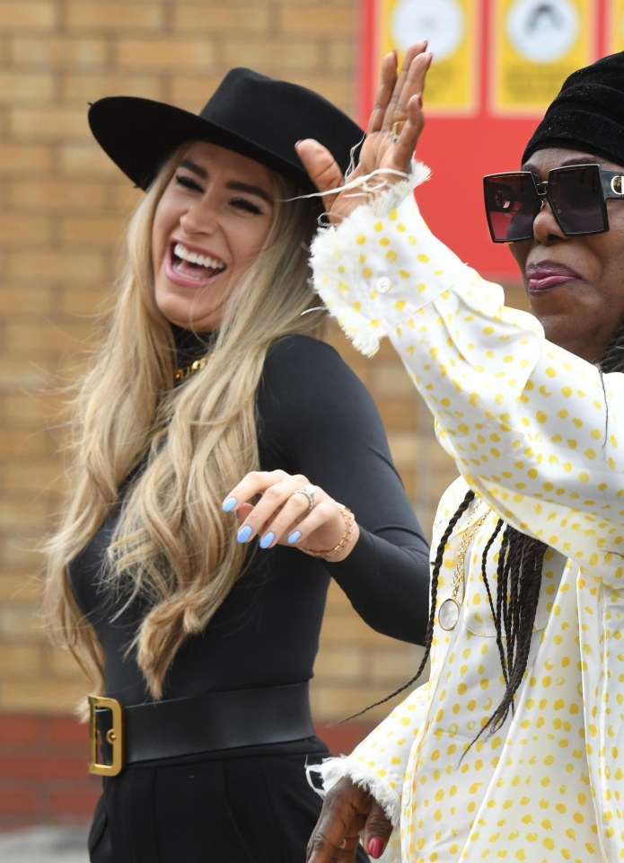 Pogba's mother Yeo joined Zulay at Old Trafford