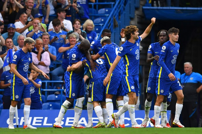 The result saw Chelsea join Man Utd at the top of the table