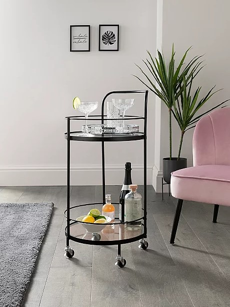 Why spend £28 on this drinks trolley from George at Asda...