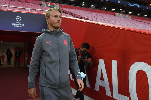 Simon Kjaer was praised for his leadership when Christian Eriksen suffered a cardiac arrest