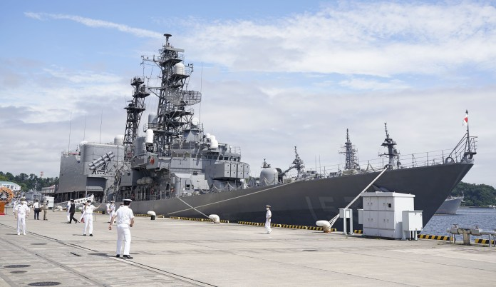 Japan is strengthening its maritime, air and ground forces in response to threats from China
