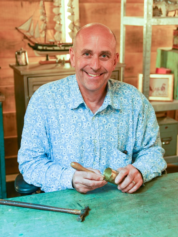Brenton West struggled to survive as a silversmith before joining the program