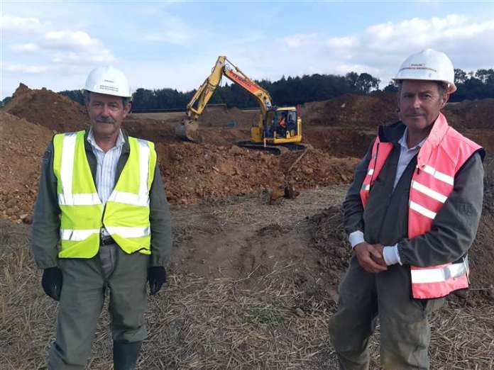 Brothers Sean and Colin Welch are running the Research Resources Archeology Project