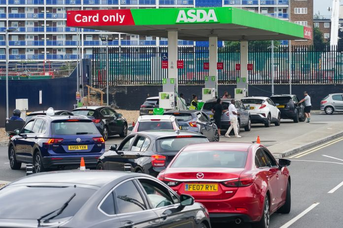 For the past few days, there are huge queues at petrol pumps after the fuel crisis.