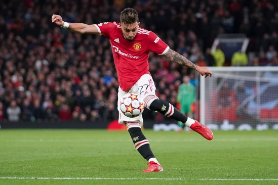 Alex Telles fired in a stunning volley to get Man Utd back level with Villarreal