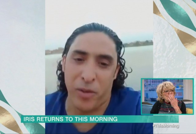 Mohammed appeared on This Morning in a video message to Iris