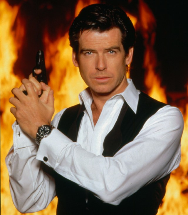 The actor's four movies as 007 included 1997's Tomorrow Never Dies