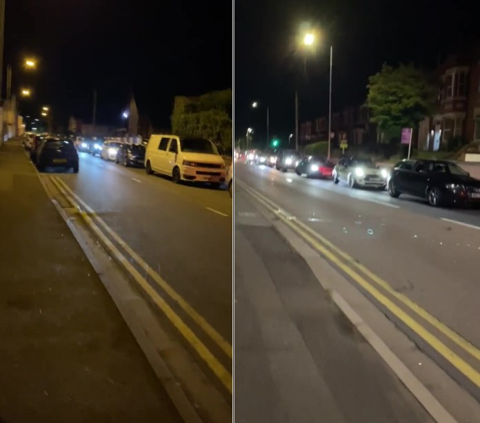 Desperate drivers wait till early morning for supplies