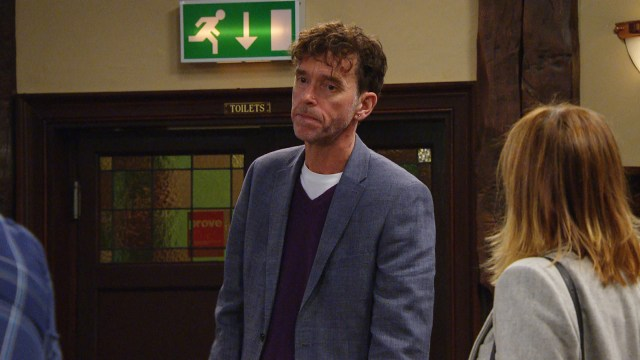 Marlon and Paddy are in an ongoing feud about the pub